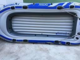 Vendo bote inflável Intex de 5 lugares