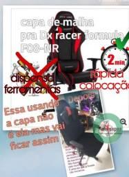 Capa pra cadeira gamer formula f08 nr