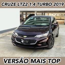 Título do anúncio: Chevrolet Cruze Ltz 2 1.4 Turbo Flex - Versão Mais Completa - 2019