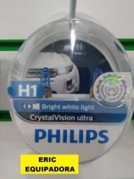 Lampadas Philips + Pingo ( par ) Clareia até 3 x Mais  - Instalada