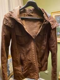 Jaqueta inverno com capuz