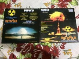 Lp Duplo Pipo's 1996 Programado Para Detonar Nagasaki E Hiroshima