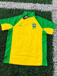 Camisa Brasil Tailandêsa