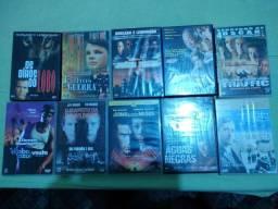 Dez DVDs Originais//Perfeito estado//Sem arranhões//Pra Vender Hoje