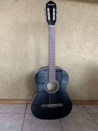 violão giannini preto + capa