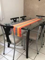 Trilho de mesa ou caminho de mesa de Tiradentes, de tear colorido lindo