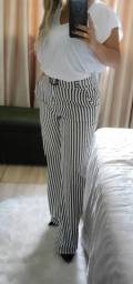 Calça cintura alta - Tamanho G