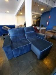 sofá retrátil e reclinável 1,90 X 1,60