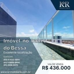 Título do anúncio: Apartamento com 3 dormitórios à venda, 82 m² por R$ 436.000,00 - Bessa - João Pessoa/PB