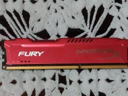 Kit 2x Memória RAM HyperX Fury 4Gb DDR3 1866MHz