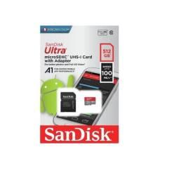 Cartão de memória SanDisk 512 gigas  jre