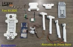 Drone Fimi X8 2020 - Peças para Reposição - Retiradas de Drone Novo
