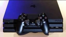 PS4 PRO 1 terá 4k Modelo novo 7215 pouco tempo de uso. Zerado. Sem detalhe