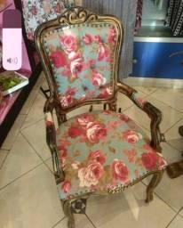 Cadeira Luís XV nova
