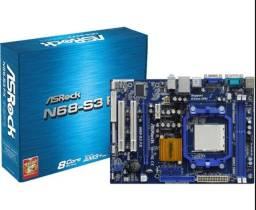Placa mãe Asrock n68 com processador AMD