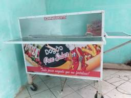 Carro de hot dog novo diferenciado