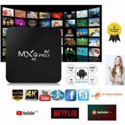 Título do anúncio: Aparelho TV Box C/ Definição 4k Transforme sua TV em SmartTV