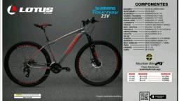 Bicicleta Lotus, Aro 29, Alumínio, Shimano - NOVA