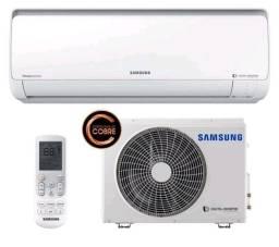 Ar Condicionado split Samsung Digital Inverter 12.000 BTUs quente/frio, Seminovo