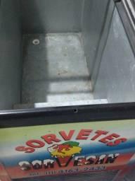 Freezer Horinzontal Tampa de Vidro