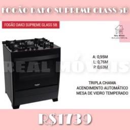 Fogão Dako Supreme Glass 5B fogão fogão fogão fogão Dako Glass supreme