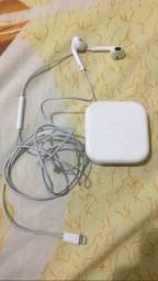 Fone Apple original (Aceito Cartão )