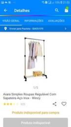 vendo Arara de roupas para loja ou uso pessoal