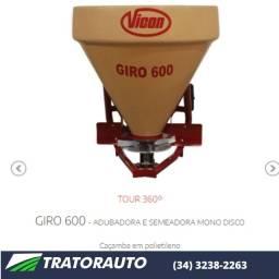 Semeadora / Adubadora Vincon Giro 600