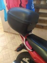 Bau já com o suporte da Honda cg 150
