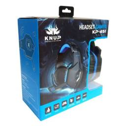 Headset Gamer Ps4 Xbox One Pc Knup Kp-451 P2 3.5mm Com Mute