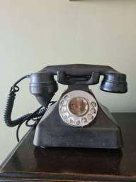 Telefone Antigo Preto - Standard Eletric - Retrô - Anos 70