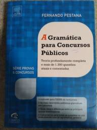 A gramática para concursos públicos.