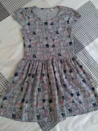 Vestido infantil da C&A