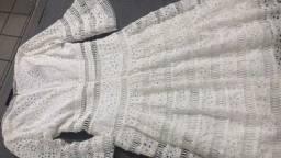 Vestido de renda gruipe branco