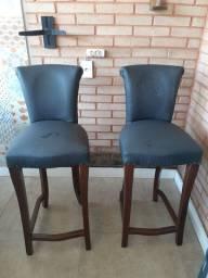Cadeiras altas!!!