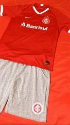 Camisa e bermuda internacional original