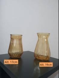 Vasos de vidro