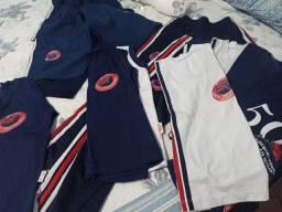 Lote de uniforme escola Santa Teresinha