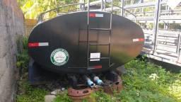 Tanque para transporte de água