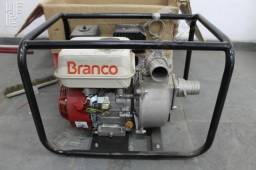 Motobomba Branco a Gasolina B4T 710 2 Polegadas 33.000 Litros/Hora 28 MCA