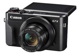 Canon G7 X Mark II (câmera fotográfica) filma e tira foto