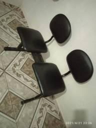 Cadeiras Longarinas 2 lugares