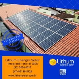 Energia solar fotovoltaica WEG | Integrador oficial
