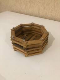 Cachepô octogonal