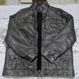 Jaqueta de Couro Forrada
