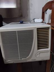 Ar condicionado e transformador