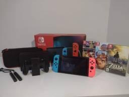 Nintendo Switch completo + Jogos