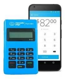 Máquina mecado pago via Bluetooth usa celular D150