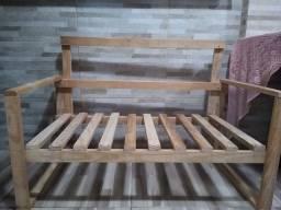 Sofá modelo rústico