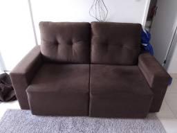 Sofá retrátil reclinável (novo)